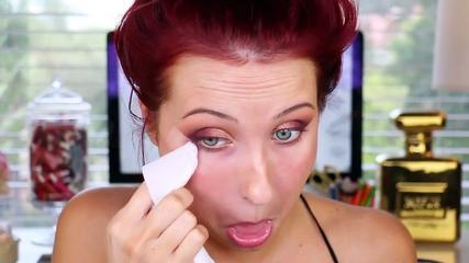 Jaclyn Hill ♥ Ombre Sunset Smokey Eye Makeup Tutorial   Makeup