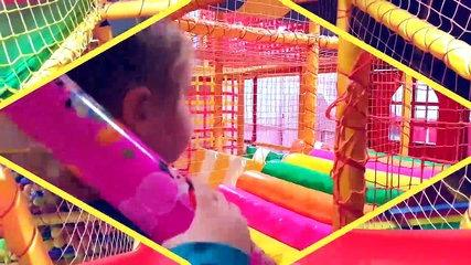 Indoor Playground Family Fun Play Entertainments for kids Trampoline Funny videos 2017  for ch