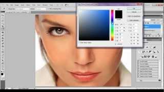 TUTORIAL PHOTOSHOP CS5 ESPAÑOL: Retoque De Piel Y Maquillaje Digital