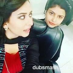 Rabia anum funny dubsmash of Indian movie