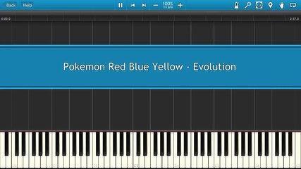 Pokemon Red Blue Yellow - Evolution [Piano Tutorial]