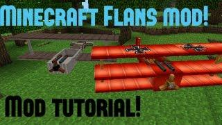 Minecraft - Mod Tutorial - Flans Mod Nederlands
