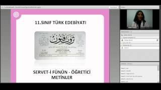 Servet-i Fünun - Öğretici Metinler (Türk Edebiyatı 11. Sınıf)