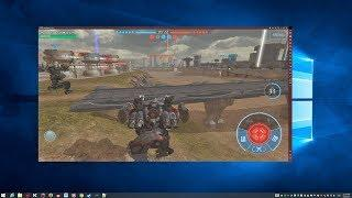 War Robots [2017] PC Gameplay Tutorial step by step (Windows + Android)