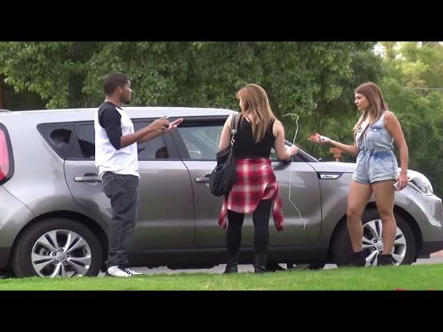 Stealing Car Prank