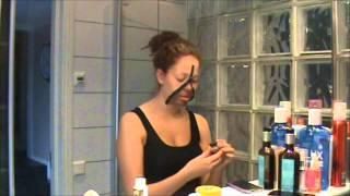 Unzipped Zipper Face Tutorial SWEDISH
