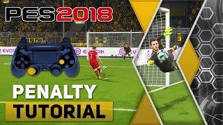 PES 2018 Penalty Kick Tutorial [PS4, PS3]