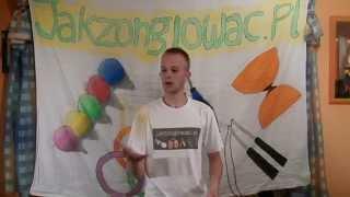 #11 Udawane Kolumny - Fake Columns Tutorial - żonglowanie 3 Piłkami - Juggling 3 Balls In Steps