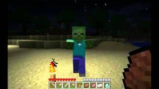 Tutorial De Minecraft En Español Para Novatos - Parte 2 - Combate Y Salud
