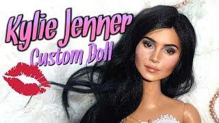 How To Kylie Jenner Custom Doll Tutorial DIY Barbie Repaint