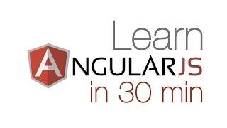 Learn Angular.js In 30 Min! - Angular Tutorial For Beginners Using UI-Router