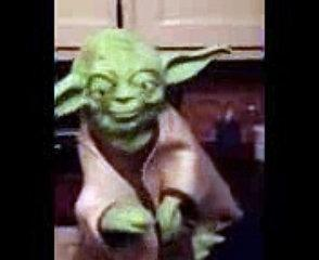 Yoda tells a funny joke