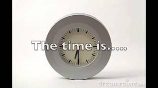 Telling The Time Hebrew Lesson Tutorial