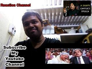 3 IDIOTS CHATUR'S SPEECH /FUNNY SCENE/ REACTION VIDEO