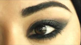 Cheryl Cole Makeup Tutorial Arabic Smokey Eye  شيريل كول مكياج للعيون عربية