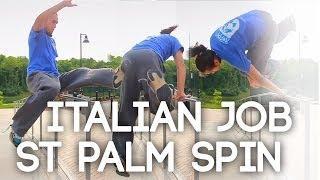Tutorial - Rail Flow Combination (Sit Turn / Italian Job ST Palm Spin)