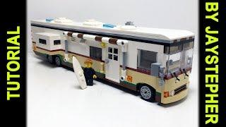 Lego Tutorial - Deluxe Class A Motorhome