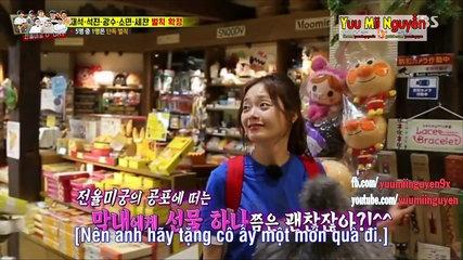 《FUNNY》 Running Man EP 353 | LEE KWANG SOO TẶNG VÒNG TAY CHO JEON SO MIN