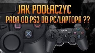 Jak Podłączyć Pada Od PS3 Do Komputera PC/Laptopa ? PORADNIK