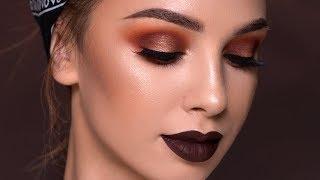 FALL Makeup Tutorial   Bold Vampy Glam 2017