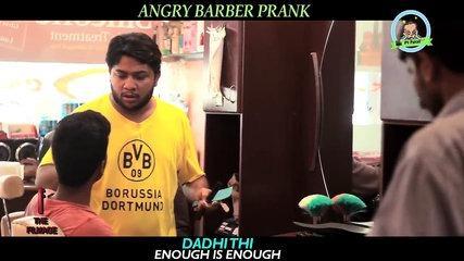 - Angry Barber - Funny Prank