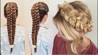 ♥️ HAIRSTYLES Tutorial For Girls ♥️ BEAUTIFUL GIRLS HAIRSTYLE