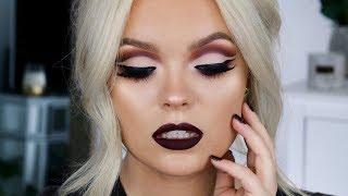 FALL Vampy Cut Crease Makeup Tutorial