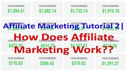 Affiliate Marketing Tutorial 2 | Clickbank | How Does Affiliate Marketing Work