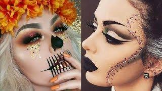 Maquillajes para HALLOWEEN 2017 / easy halloween makeup tutorial 2017