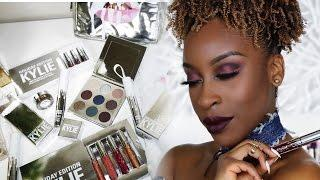 Kylie Holiday Edition Review + Tutorial/Swatches | Jackie Aina