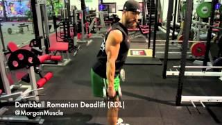 HOW TO | Romanian Deadlift Dumbbells