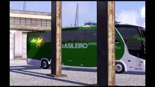 Euro Truck Simulator 2 - TSM 4.5 With Bus Expresso Brasileiro Full HD