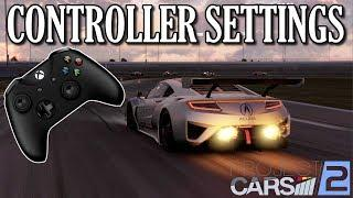 Project Cars 2 | CONTROLLER SETTINGS TUTORIAL