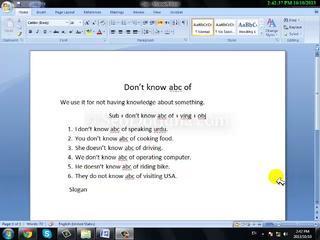 To Learn English Language In Urdu Free Grammar - Speaking Course Tutorial Class  13