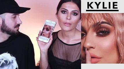 Kylie Jenner Makeup Tutorial | Peachy Smokey Eye
