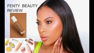 FENTY BEAUTY BY RIHANNA  - FIRST IMPRESSIONS | HONEST REVIEW | TUTORIAL