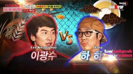 《FUNNY》 Running Man EP 60 - ĐẤU VẬT GIỮA LEE KWANG SOO & HA HA