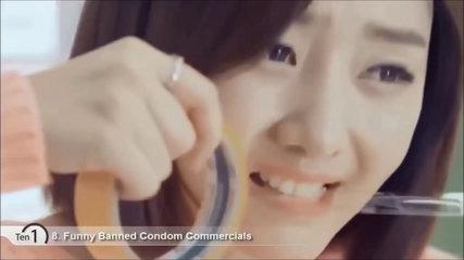 Best 10 Banned Condom Commercials - Funny Sexy Banned Commercials Daily Motion