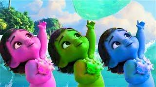 Learn Colors With MOANA BABY Funny Momment Videos #10 Learning Video for Kids