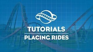 Planet Coaster Tutorial - Placing Rides