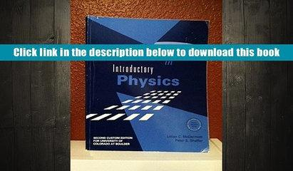 Epub  Tutorials in Introductory Physics For Kindle