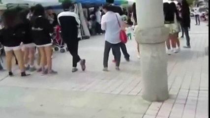 funny korean baby dance