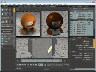 material-db.com Tutorial: modo 302 preview-scene
