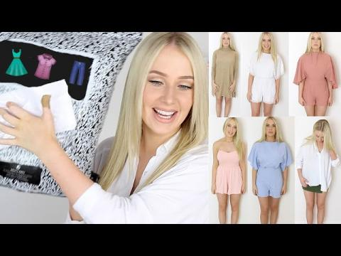 NEW CLOTHING HAUL + TRY ON!! | Lauren Curtis