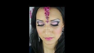 Pink Make Up / Asian Make Up Tutorial / Maquillage Libanais / Arabic Make Up