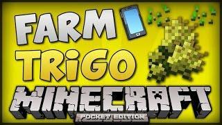 MINECRAFT PE: FARM DE TRIGO - AUTOMÁTICA E EFICIENTE (USANDO VILLAGER) [TUTORIAL] 1.0