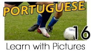 Learn Brazilian Portuguese With Pictures -- Play Ball! Sports Names In Brazilian Portuguese