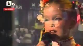 Bulgarian Folklore Music - Maria - 9-year Old Girlie-singer