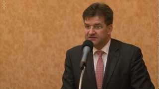 Tlačová Konferencia M. Lajčáka S Gréckym Partnerom - úvodné Slovo Ministrov