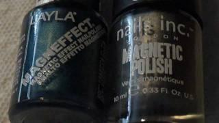 Magnetic Nail Polish Tutorial And Review! Nails Inc. Layla Brand Comparison!